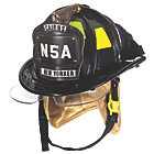 Cairns® N5A New Yorker Leather Fire Helmet